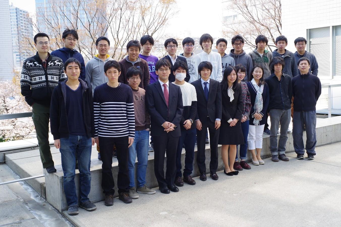 寄田研究室 2017年度メンバー